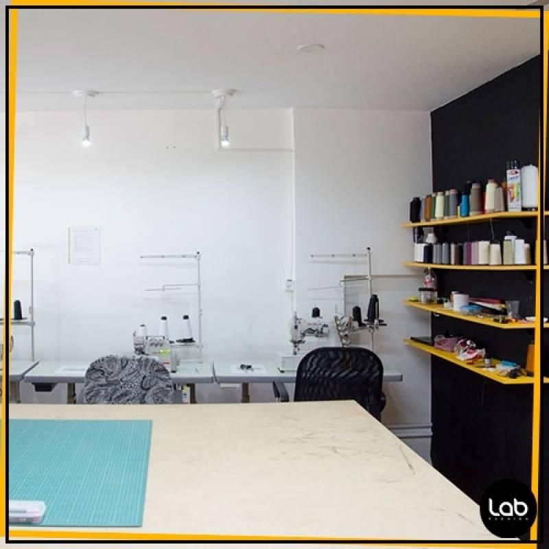 Aluguel de Sala Coworking Fashion Preço Bom Retiro - Atelier Lab Fashion