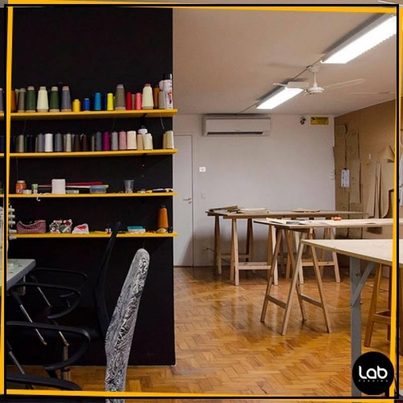 Aluguel de Sala Coworking Fashion Higienópolis - Laboratório para Coworking Fashion