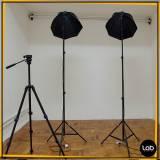 estúdio para foto preço Luz