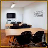 locação de salas para reunião de moda Luz