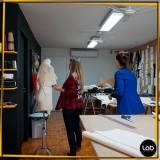 onde encontrar curso para estilista de moda Sé