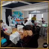 sala para treinamento para moda Santa Efigênia