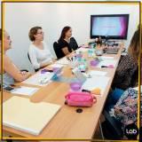 valor de aluguel de sala para workshop de moda Luz